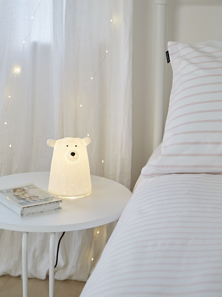 Porcelain Polar Bear Lamp