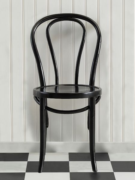 Retro Bistro Chair - Black