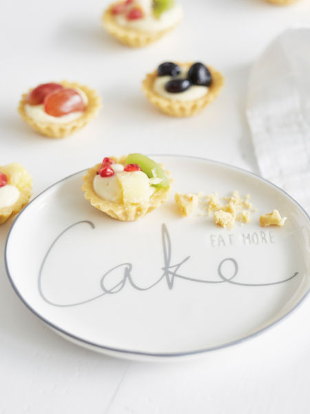 Eat More Cake Plate
