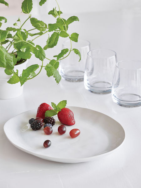 Nordic Touch Oval Plate