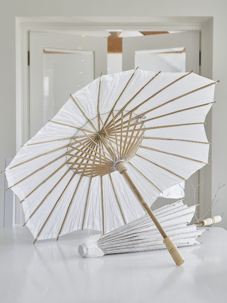 Decorative Bamboo and Paper Parasol