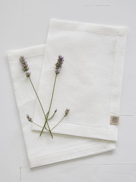 Off White Linen Placemats - Set of 2
