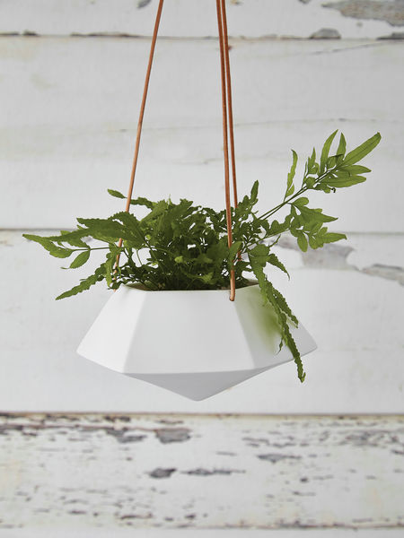 Geometric Hanging Planter - Medium