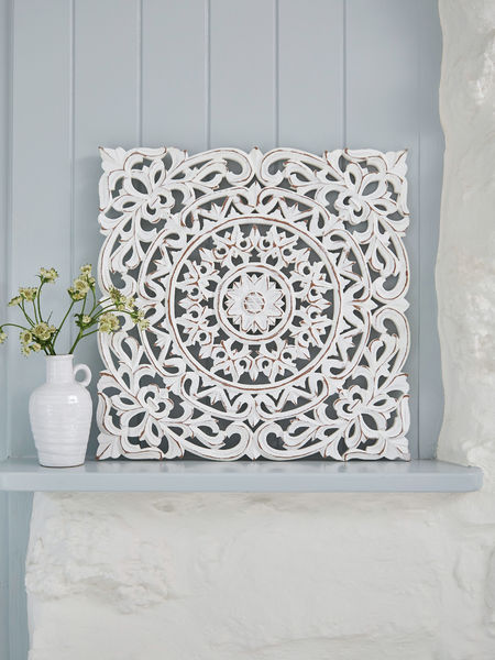 Carved Wall Panel, Aina