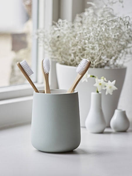 Soft Mint Toothbrush Mug