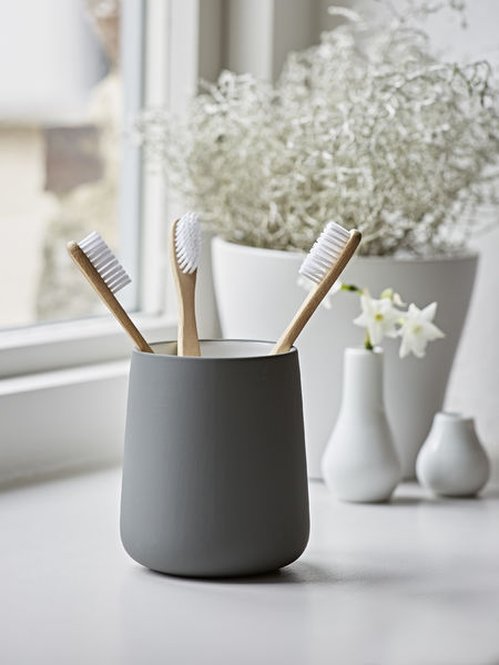 Graphite Grey Toothbrush Mug