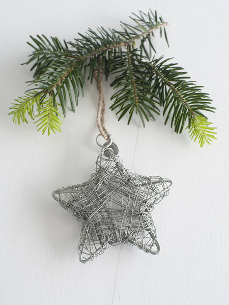 Zinc Star Decoration