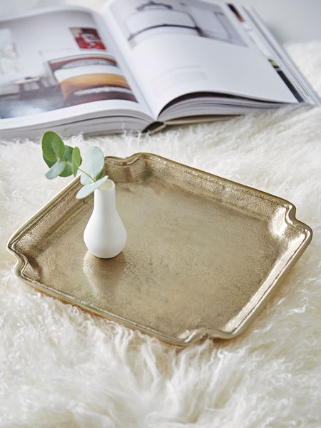 Antique Gold Tray