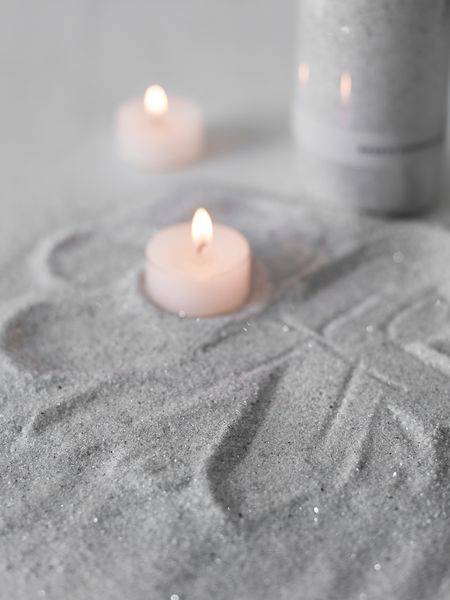 Candle Sand - Linen Grey
