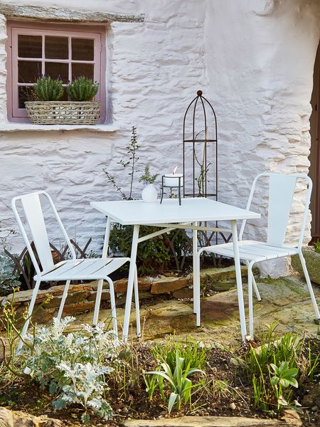 Danish Outdoor Table & Chairs