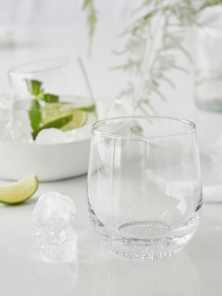 Bubble Glass Tumblers - Round