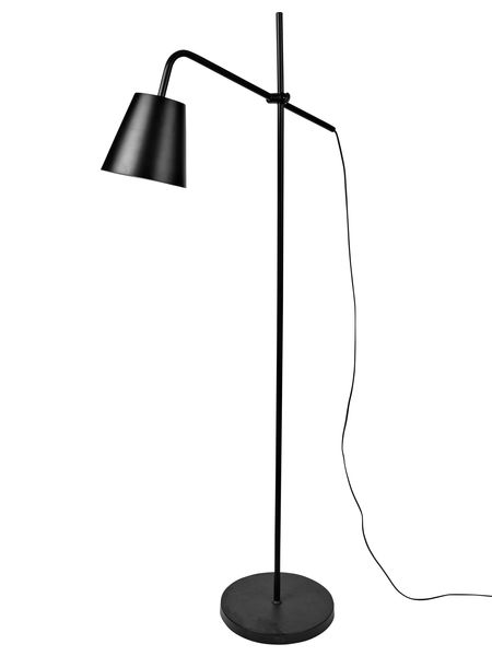 Black floor lamp industrial black floor lamp aloadofball Choice Image