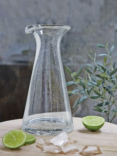 Bubble Glass Carafe | Scandi Carafe | Nordic House Water Spout House