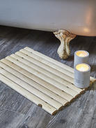 Birch Wood Bath Mat