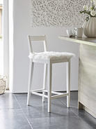 Dahlberg Bar Stool - White