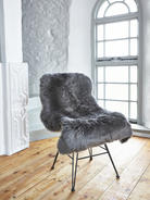 Luxurious Sheepskin Rug - Grey