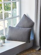 Textured Grey Cushion