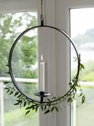 Hanging Wrought Iron Candle Holder
