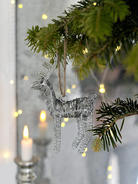 Zinc Reindeer Decoration