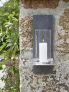 Outdoor Wall Candle Sconce
