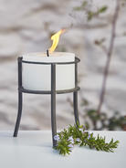 Rustic Outdoor Candle Holder
