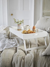 White Bed Tray