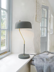 Curved Table Lamp