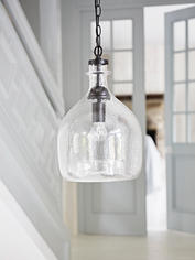 Textured Glass Pendant Lamp