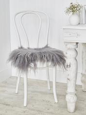 Icelandic Sheepskin Seat Cover - Soft Grey