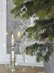 Spiral Icicle Decoration - XL