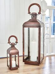 Weathered Bronze Lanterns