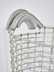 Heirloom Basket Hanger - Silver Grey