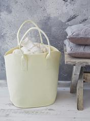 Felt Basket - Cream