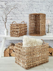 Water Hyacinth Basket Set