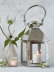Stainless Steel Lantern - Square