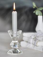 Chic Glass Candlestick
