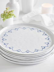 Handcrafted Maja Charger Plate