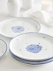 Handcrafted Maja Dinner Plate