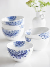 Handcrafted Maja Cereal Bowl