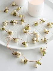 Faux Snowberry Garland