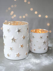 White Star Tealight Hurricanes