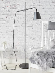 Industrial Black Floor Lamp