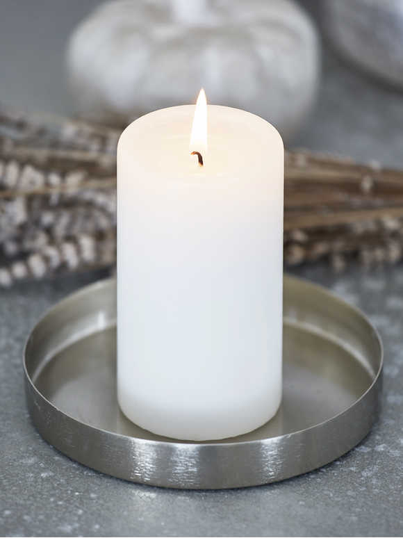 Metal Candle Tray