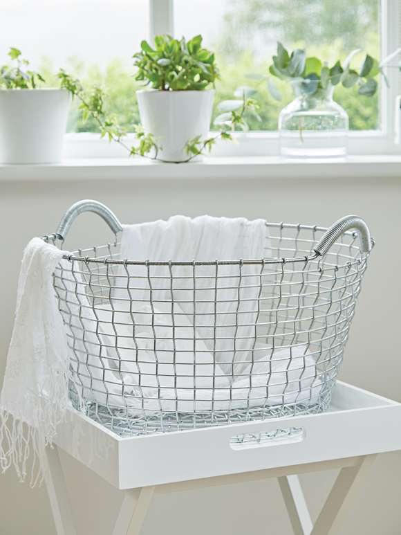 Heirloom Hand-Woven Basket - G35L
