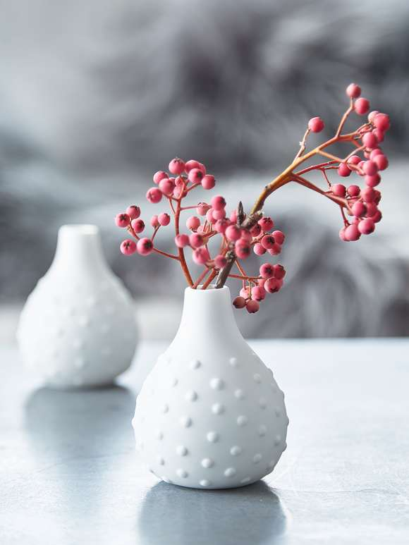 Chic Mini White Vase