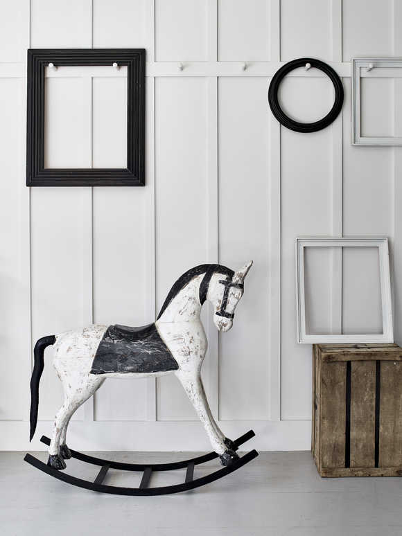 Decorative Vintage Rocking Horse - XL