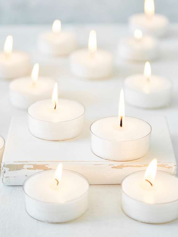 Large Clear Cup Tealights