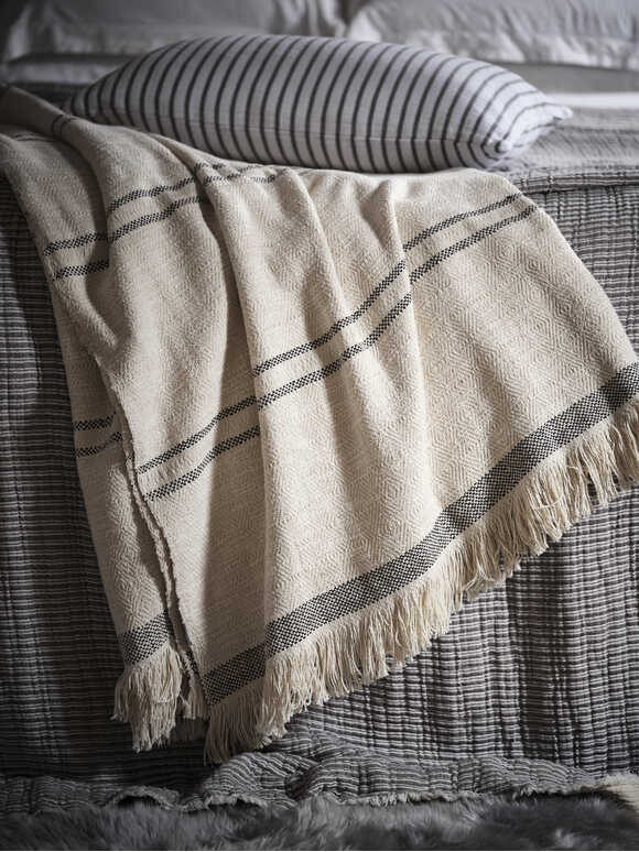 Supersoft Washed Cotton Throw