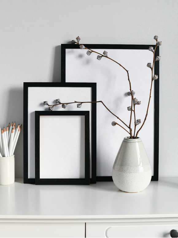 Black Ash Picture Frame