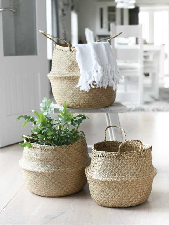 Sea Grass Basket Set
